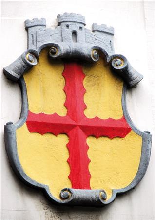 Wappen am Schlachthof