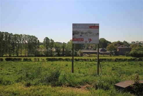 Lontzen: neue Parzellierung in voller Südlage