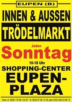 Ostbelgien - Trödelmarkt Innen und Außen