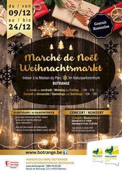 Ostbelgien - Weihnachtsmarkt im Naturparkzentrum Botrange